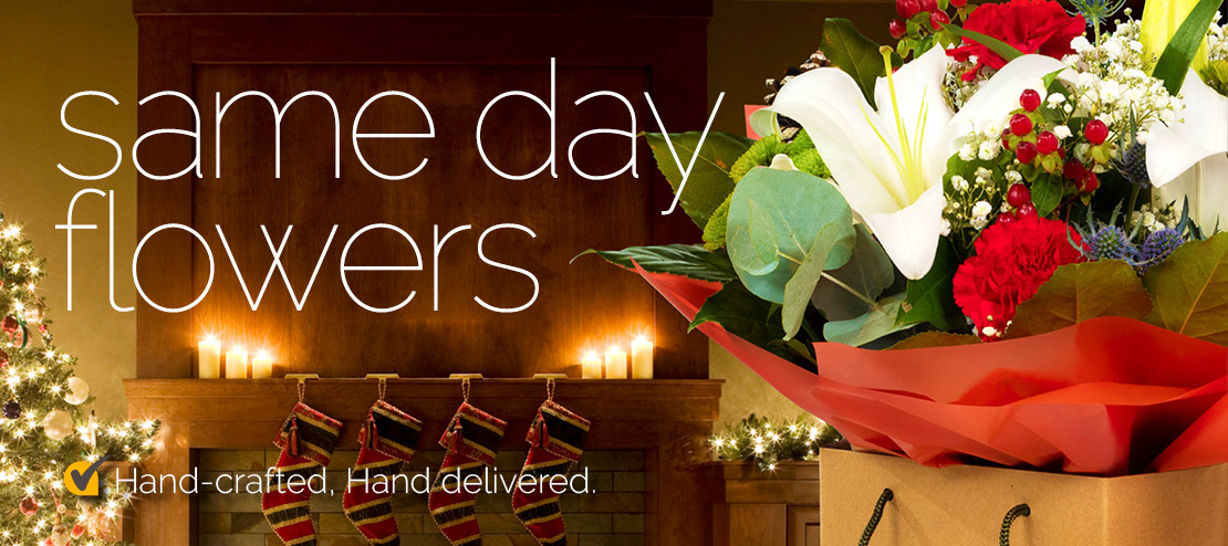 same day christmas flowers