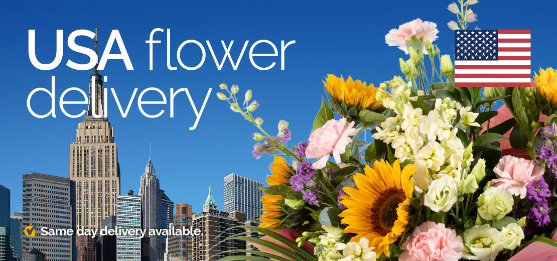 Flower delivery in the USA