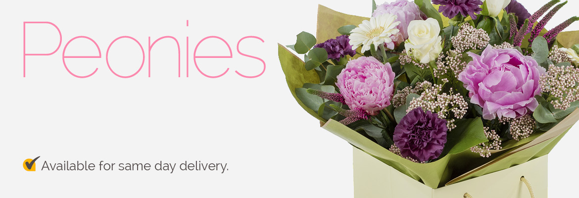 Peonies Flower Delivery