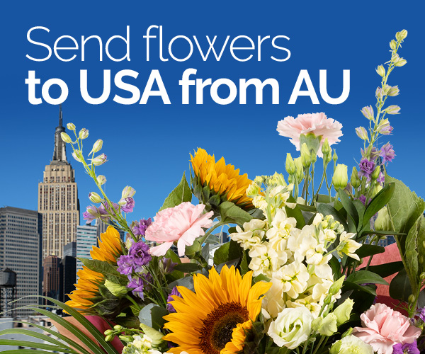 Send Flowers To Usa From Australia