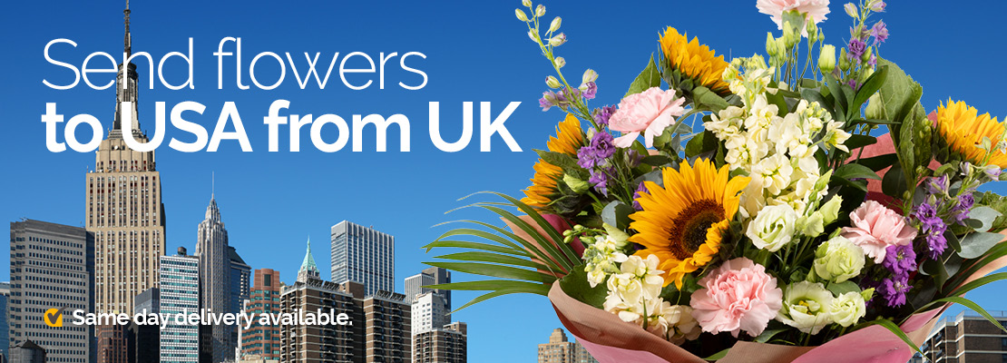 Send Flowers To Usa From United Kingdom
