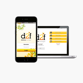 The brilliant D2F Software & Delivery App: